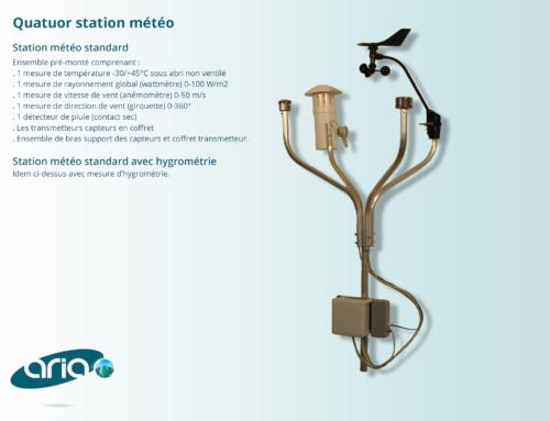 Station météo Quatuor