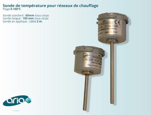 Sondes de température de chauffage