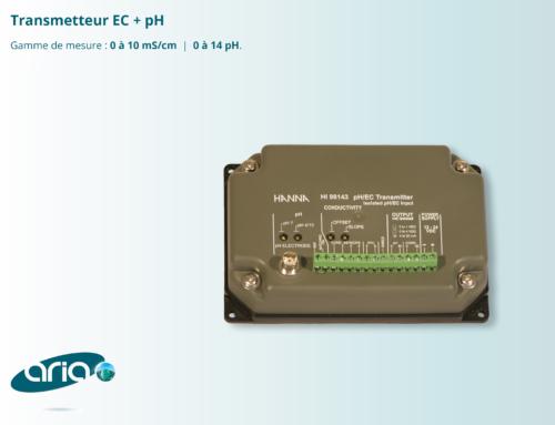 Transmetteur EC/pH