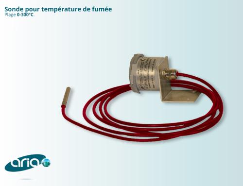 Sonde pour température de fumée
